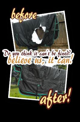Horse Blanket repair